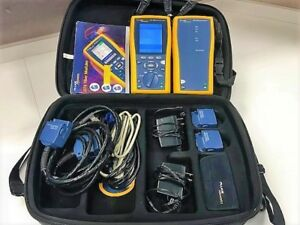 Fluke Networks Dtx 1800 Cable Analyzer Case And Accessories