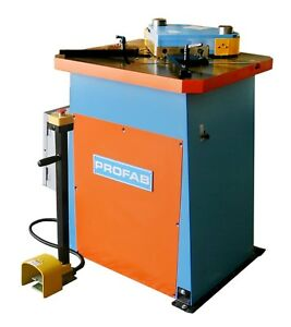 Sheet Metal Corner Notcher 8 X 8 9 Gauge 4mm Sheet Metal Notching Machine Hvac