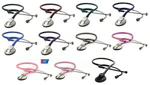 Adc Adscope 615 Platinum Clinician Stethoscope New 11 Color Choice