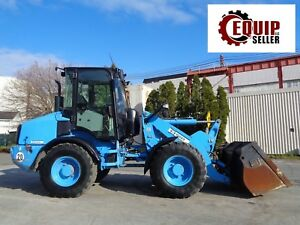 2014 Caterpillar 908h2 Wheel Loader Enclosed Cab 4x4 Hyd Quick Coupler
