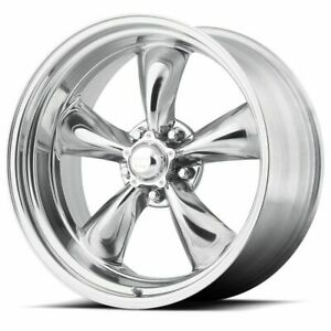 15 Torq Thrust Ii Vn515 Polished Classic Wheel 15x8 5x4 75 0mm 5 Lug Vintage