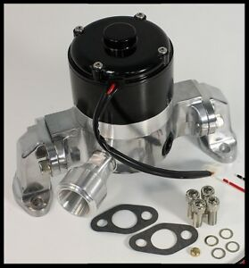 Bbc Chevy Elite Ultra Flow Electric Water Pump Polished E 5927 P Clearance