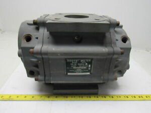 Roots Dresser 7m125 M049541 2 125psig 7000cfh Rotary Gas Meter