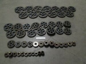 Lot Of 58 Barber Coleman 25 15 Spline Shaft Change Gears List In Pictures