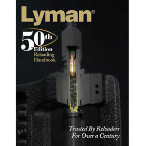 Lyman Load Data Book 50th Edition Reloading Hard Cover Md: 9816050