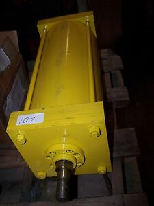 New Hydraulic Cylinder 16 Stroke 5 Bore 1 Threaded Shaft