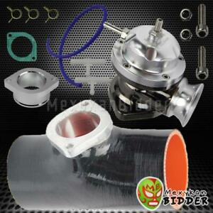 Black 3 Bov Flange Coupler Billet Aluminum Type Rs Turbo Blow Off Valve Chro