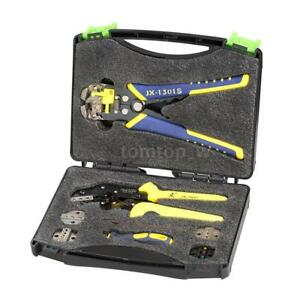 Wire Crimper Kit Crimping Plier Stripper Bootlace Ferrule Cord End Terminal