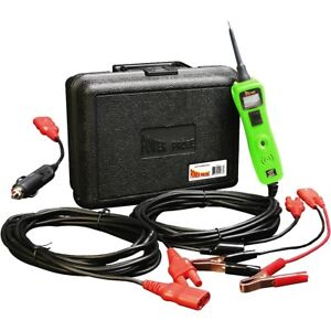 Power Probe 3 Iii Pp319ftcgrn Green Powerprobe Kit W Voltmeter And Accessories