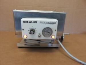 Buchler Instruments Thermo lift Water Bath W Temperature Gauge