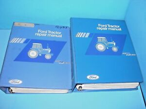 Ford Tractor Repair Manual Series 10 Se3870