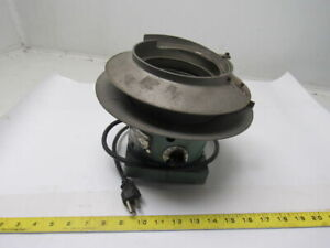 Syntron Type Eb00be Magnetic Vibratory Small Parts Feeder Bowl 115v