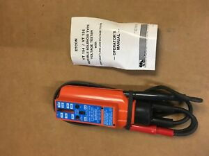 Etcon Vt154 Audible Solenoid Type Voltage Tester With Continuity Lv Tests New