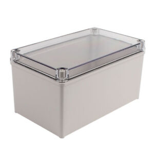 250x150x130mm Clear Cover Junction Electronic Project Box Enclosure