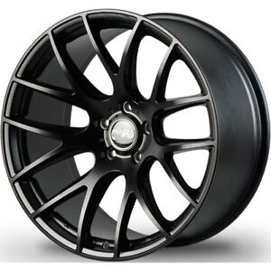 19x8 5 Black Miro Type 111 Wheels 5x4 5 15 Fits Dodge Charger