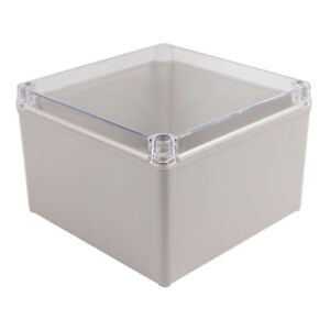 20x20x13cm Clear Cover Junction Electronic Project Box Enclosure