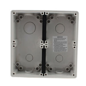 200mm X 195mm X 60mm Abs Enclosure Junction Box Non covered