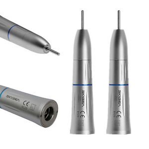 2 X Skysea Dental Low Speed Handpiece Straight Nosecone Inner Water Spray Dys