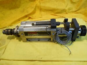 Suhner Economaster Self Feeding Drill Unit 1 2 Chuck Drilling Machine Tool