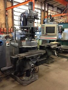 9586 Used Bridgeport Series I Cnc Vertical Milling Machine