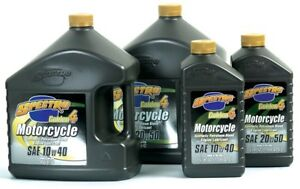 Spectro Golden 4 Semi Synthetic Motorcycle Engine Oil 20w40 1 Liter