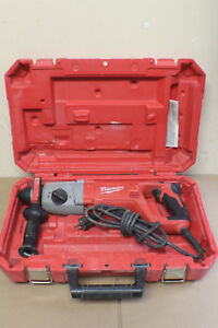 Milwaukee 1 Sds Plus Rotary Hammer 5262 21 W Case Handle Depth Rod Free Ship