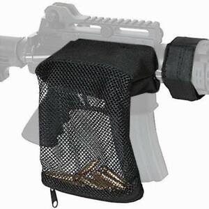 Tactical Mesh Casing Collecter Brass Shell Catcher Bag Trap For 2235.56 Black *