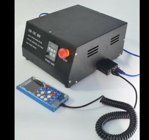 4 Axis Cnc Engraving Machine Controller Box Mach3 Adapter Lcd Manual Control