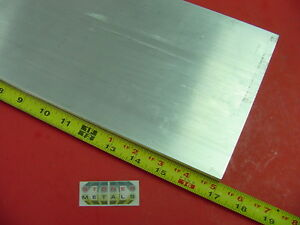 3 4 X 6 Aluminum 6061 Flat Bar 17 Long T6511 Solid Plate New Mill Stock 75