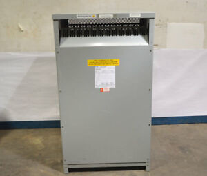 Eaton cutler Hammer N48m28t49a 150 kva 3ph Transformer Dry Distribution Pri 480