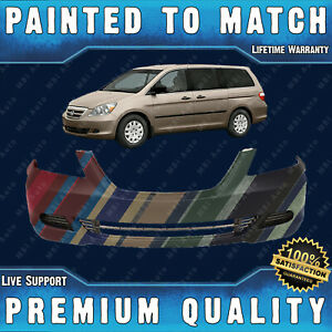 New Painted To Match Front Bumper Fascia Direct For 2005 2006 2007 Honda Odyssey
