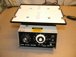 Barnstead lab line Titer Plate Shaker Model 4625 Free Shipping In The Lower 48