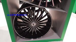 20 Inch Velocity Vw11 Black Machine Wheels Rims Tires Fit 5 X 114 3