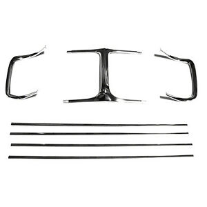 Replacement Grille Molding Kit For 1969 Charger front Gmk216105569s