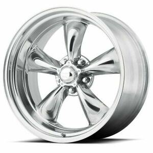 17 Torq Thrust Ii Vn515 Polished Classic Wheel 17x8 5x4 75 8mm 5 Lug Vintage