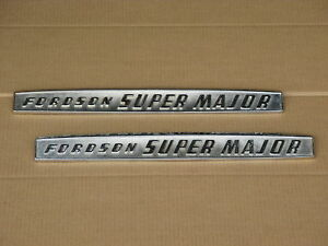 2 Metal Fordson Emblems For Ford Super Major