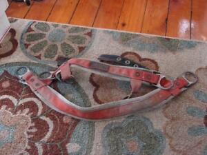 Vintage Buckingham Tree Climbing Safety Tool Belt Model 13655 A