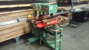Conquest 46 Spindle Double Row Line Boring Machine Great Condition Woodworking