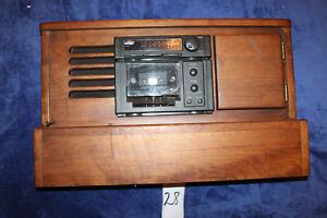 91 96 Gmc Chevy G10 G20 Conversion Van Woodgrain Stereo Radio W Cd Plug Cabinet