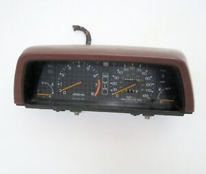 Instrument Cluster And Cover Red Used 1985 Honda Civic Wagon 4wd
