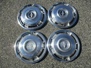 Genuine 1968 To 1970 Chevy Camaro 14 Inch Hubcaps Wheel Covers Set