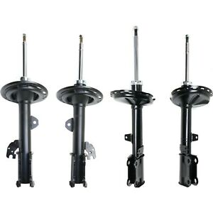 Shocks Set For 2009 2012 Toyota Venza Front And Rear Left And Right Black 4pc