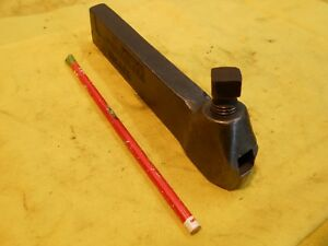 Williams Usa No 3 S Engine Lathe Tool Holder Metal Turning Holds 7 16 Sq Bit