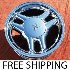 Set Of 4 Chrome 17 Ford Mustang Gt Oem Factory Wheels Rims 3089