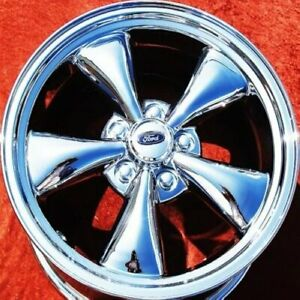 Set Of 4 Chrome 17 Ford Mustang Gt Oem Factory Wheels Rims 3589