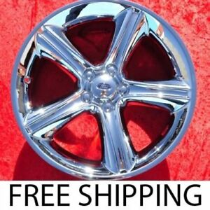 Set Of 4 Chrome 19 Ford Mustang Oem Factory Wheels Rims 3812