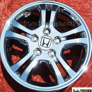Set Of 4 Chrome 16 Wheels For Honda Accord Rims Odyssey Civic Prelude 63907