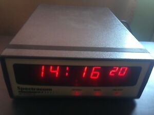Spectracom 8182 Netclock 2 Wwvb Master Atomic Led Clock