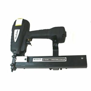 Agt N5025 Air Locker Sheathing And Fencing Stapler 2 16 Gauge Wide Crown