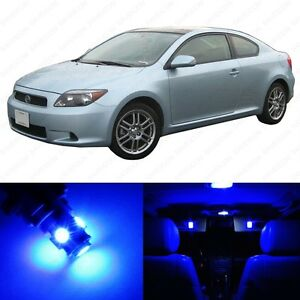 8 X Blue Led Interior Lights Package For 2005 2007 Scion Tc Pry Tool